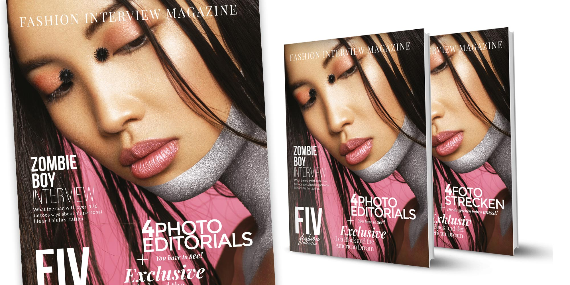 FIV Magazine out now! It's all about Fashion, Influencer, Models & Blogger