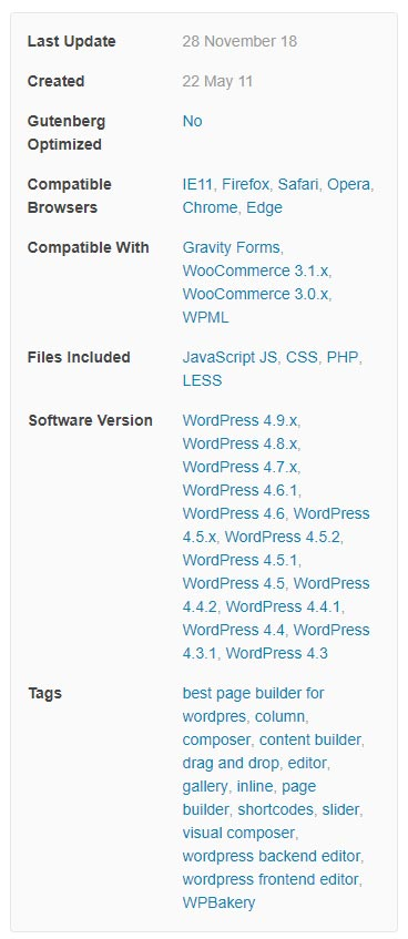 WPBakery Page Builder doesn't work anymore? WordPress 5 0 Update