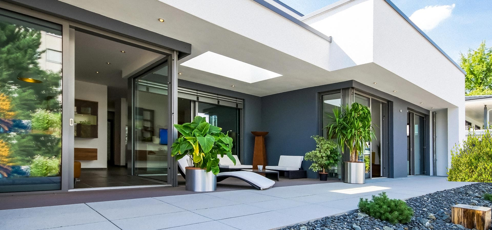 Terrace to increase the quality of living