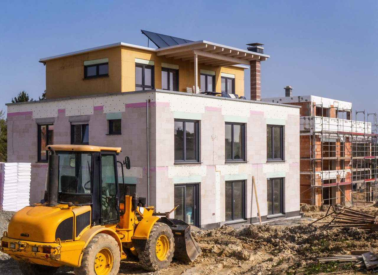 A day in Bingen with the real estate expert - On the building site