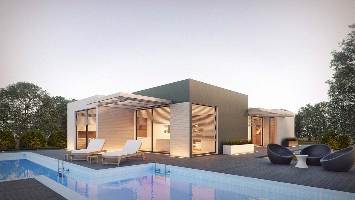 Bungalow: build, buy or prefabricated house? Features and options for investment