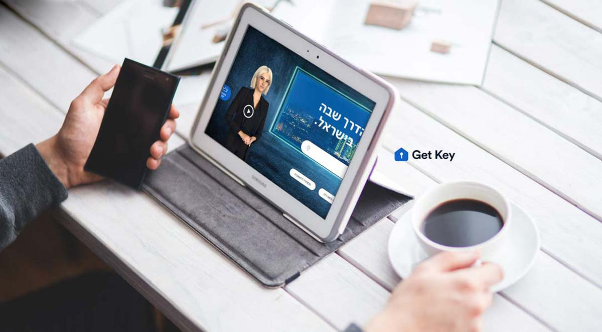 First real estate portal with virtual realtor (digital human): Marketing & technology